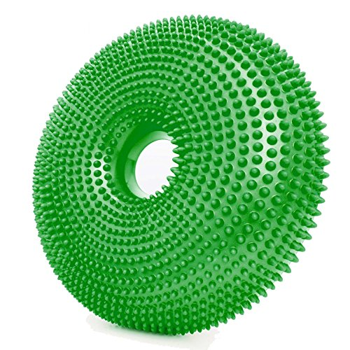 World Fitness Sitzkissen Donut Limette