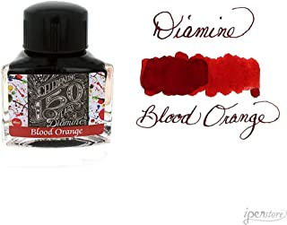 Diamine 40ml Blood Orange Fountain Pen Ink - 150 Year Anniversary Edition