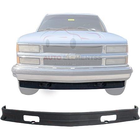 Amazon Com Carpartsdepot Front Bumper Air Deflector Lower Valance W Tow Hook Hole Replacement 350 15106 10 Gm1090105 15569430 Automotive