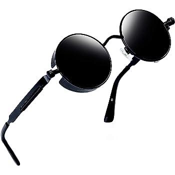 Joopin Polarized Lennon Round Sunglasses Women Men Circle Hippie Sun Glasses