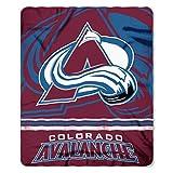 The Northwest Company NHL Colorado Avalanche 50 x 60 inch Fleece Throw Blanket