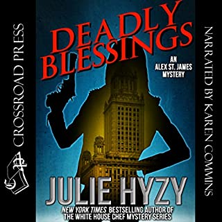 Deadly Blessings: An Alex St. James Mystery audiobook cover art