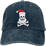 Bandanas Smile Santa Claus - Gorra de béisbol unisex para hombre y mujer, talla única ajustable