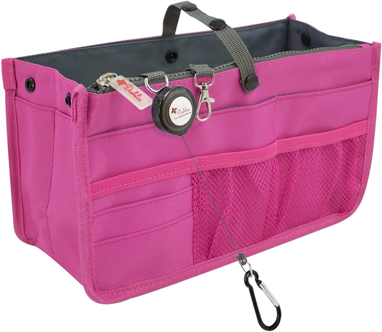 Dahlia's Patented Handbag Purse Organizer Insert  STURDY Flexible
