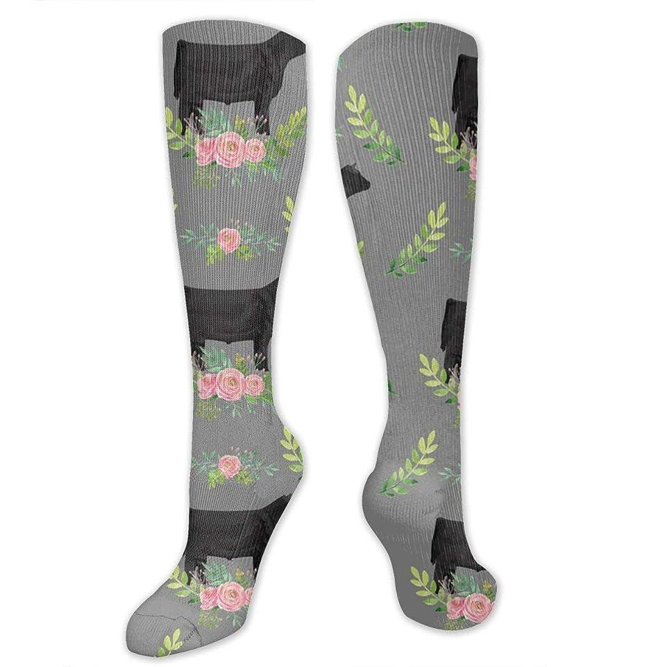 道元気な農夫靴下,ストッキング,野生のジョーカー,実際,秋の本質,冬必須,サマーウェア&RBXAA Showstock Roses Steers Socks Women's Winter Cotton Long Tube Socks Cotton Solid & Patterned Dress Socks