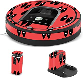 MightySkins Skin Compatible with iRobot Roomba 960 Robot Vacuum - Dead Eyes Pool | Protective, Durable, and Unique Vinyl Decal wrap Cover | Easy to Apply, Remove, and Change Styles | Made in The USA