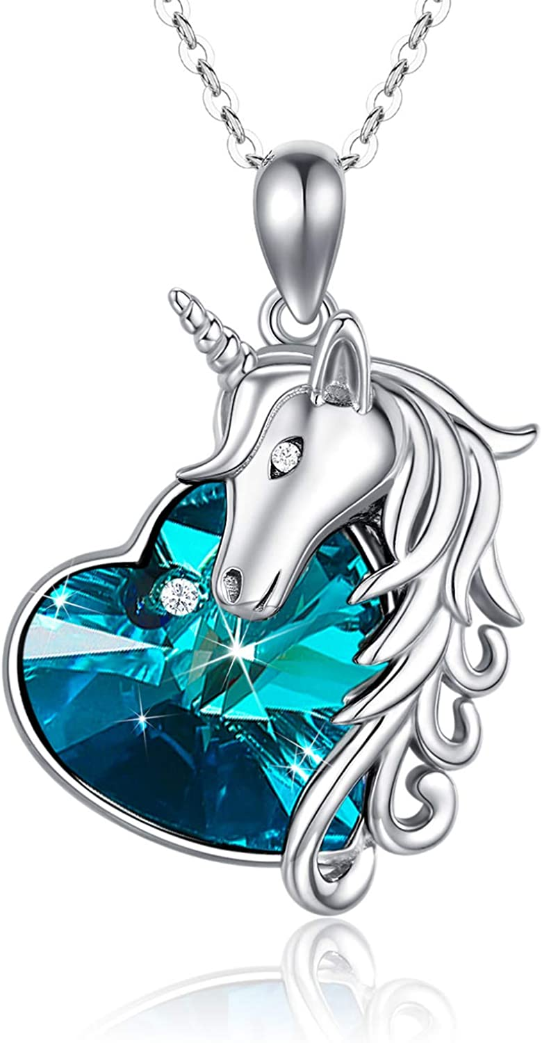 JUSTKIDSTOY Unicorn Ranking TOP4 Necklace Jewelry 925 2021 model Silver Sterling