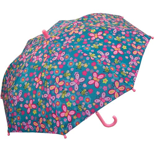 RainStoppers Kid's Bee Print Umbrella, 34-Inch