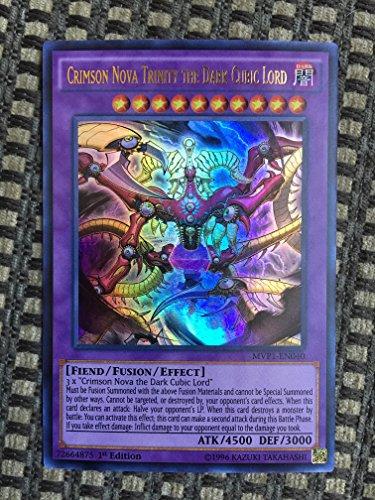 YU-GI-OH! - Crimson Nova Trinity The Dark Cubic Lord (MVP1-EN040) - The Dark Side of Dimensions Movie Pack - 1st Edition - Ultra Rare