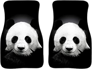 Salabomia Man Heavy Duty Protection Auto Floor Mats for Car, Truck, Van, SUV, Women Vehicle Floor Mats Carpet Universal Fit Size Car Rug Cute Panda Pattern