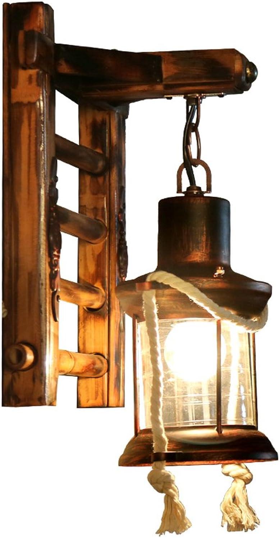 Desinger Vintage Kerosin Lampe Traditionelle Leiter Wandleuchte Wand Strahler Wandleuchte Nachttisch Antik Retro Retro Echte Wandleuchte Schlafzimmer Bed And Breakfast Inn Lantern