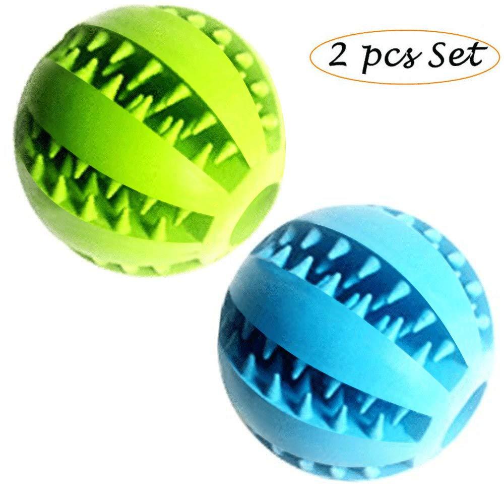 Feixun Pets - Pelota de juguete para perros, pelota de goma para ...