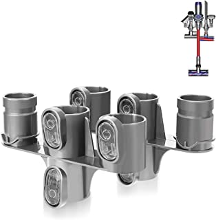 Best LANMU Docking Station Accessory Holder Attachments Organizer Compatible with Dyson V6 DC30 DC31 DC34 DC35 DC44 DC45 DC58 DC59 DC61 DC62 Vacuum Cleaner,No Messy Tools,No Drilling Required (Pack of 2) Reviews