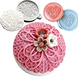 Anyana 3pcs set Fondant Impression sugar lace...