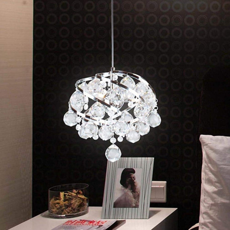 WWFF LED Kristall Pendelleuchte Kronleuchter Modernes Design Wohnzimmer Schlafzimmer Esszimmer Wei Klar Hngende Beleuchtung Halle Küche Hotel Villa Luxurise Decke 26cm Dreifarbig Dekorieren Sie Ihr