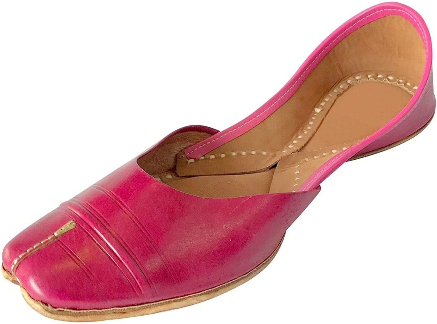 Step n Style Ethnic shoes Beaded shoes Indian shoes Khussa shoes Jutties Ballerina Pink