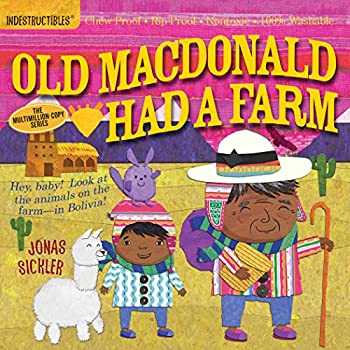 Indestructibles  Old MacDonald Had a Farm  Chew Proof · Rip Proof · Nontoxic · 100% Washable  Book for Babies Newborn Books Safe to Chew