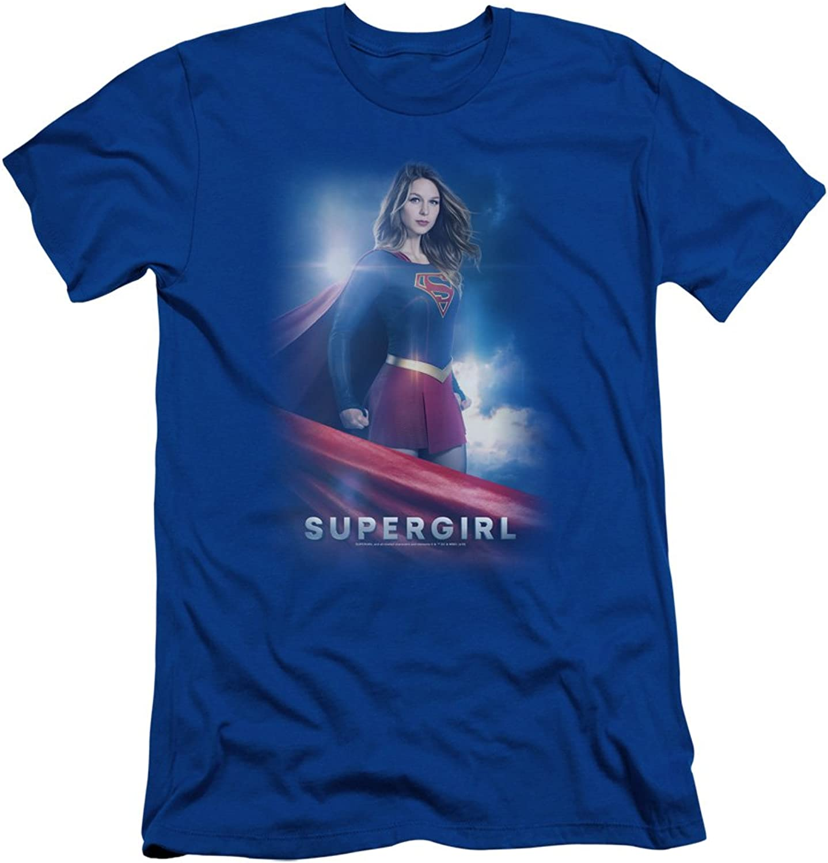 Supergirl  Mens Kara Zor El Slim Fit TShirt