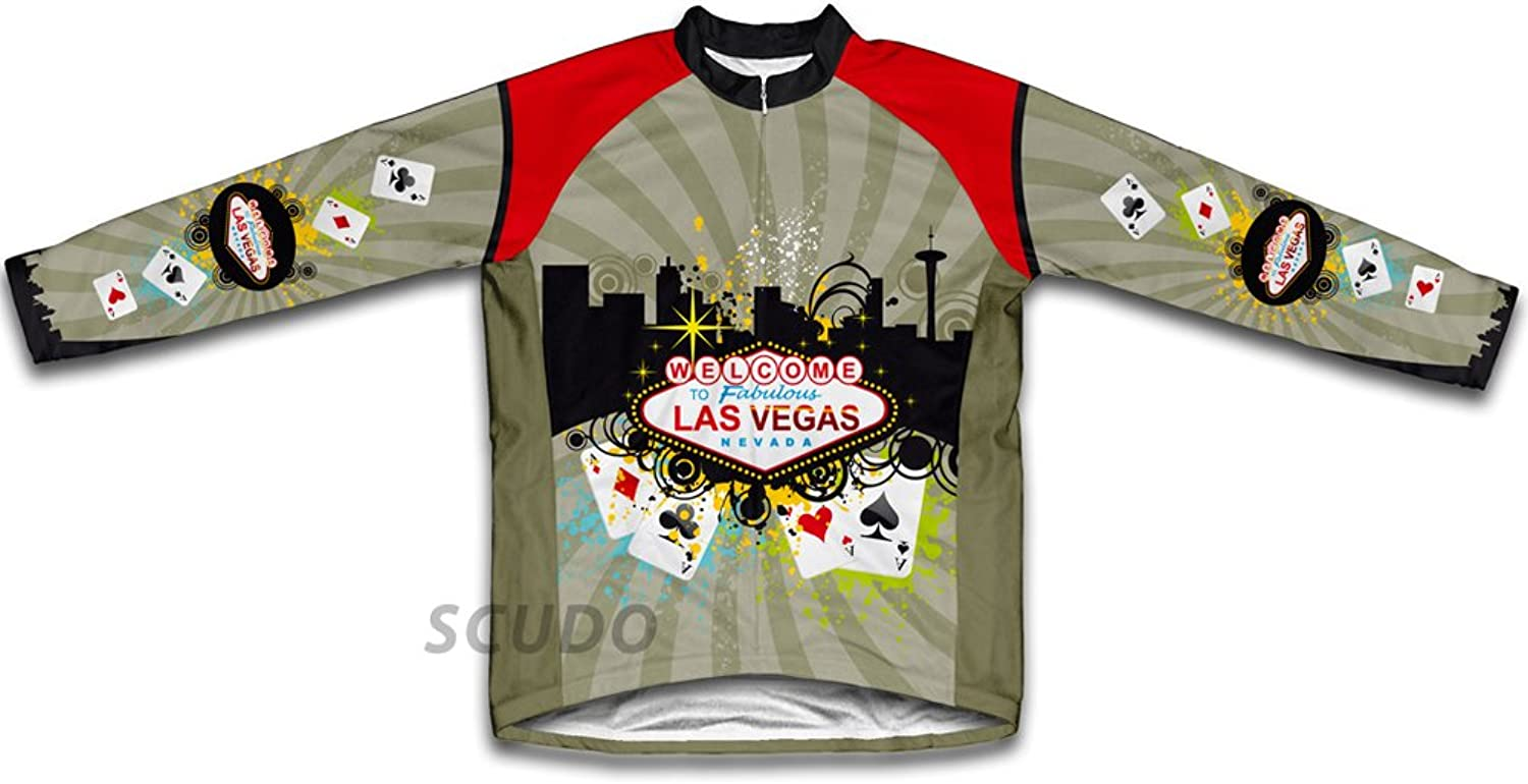 Las Vegas Fever Winter Thermal Cycling Jersey for Women