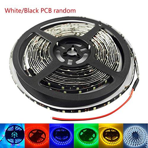 Feeldo - Bande de 300 LED 6 couleurs 24 V 500 cm 3528/1210 SMD étanche pour décoration de voiture et camion (jaune)