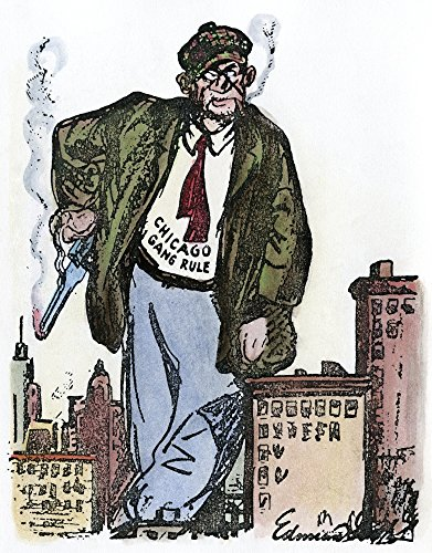 Cartoon Al Capone 1930NThe King Still Reigns American Cartoon Showing Capone Still In Control Of Chicago After The St ValentineS Day Massacre Of 1929 But Before His 1931 Conviction On Income-Tax Evasi