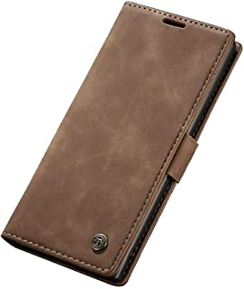 Flip Leather Case For Samsung Galaxy Note 10 Plus From CaseMe - Light Brown