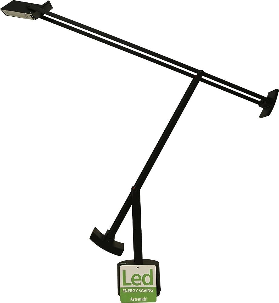 Artemide tizio led,  lampada da tavolo in alluminio 009210