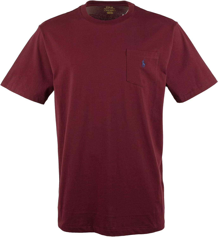 Polo Ralph Lauren Men's Big and Tall Pocket T-Shirt