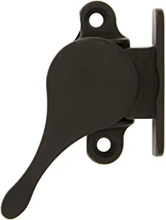 Solid Brass Sash Stay in Oil-Rubbed Bronze