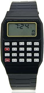 HeroNeo® Cute Children Silicone Date Multi-Purpose Electronic Wrist Calculator Watch (Black)