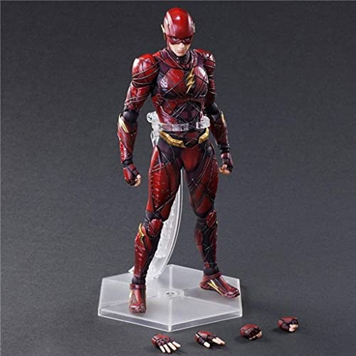 Qivor Spielzeug Statue Spielzeug Modell Avengers Spielzeug Statue Exquisite Dekorationen Dekoration Flash 27CM