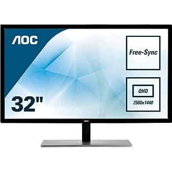 Monitor AOC Q3279VWFD8 - Pantalla para PC de 32