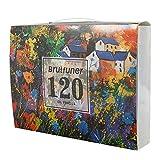 120/160pcs Matite Colorate Cancellabile Colori Unici per Disegnare e Libri da Colorare Adulti Facile Accesso con 4 Vassoi Adatto per Artisti, Adulti (120 colori)