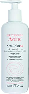 Eau Thermale Avene XeraCalm A.D Lipid-Replenishing Cleansing Oil, Atopic Dermatitis, Eczema-Prone, Fragrance-Free, Pump, 13.5 oz.