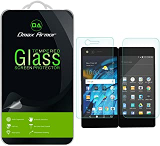 Dmax Armor for ZTE Axon M [Tempered Glass] Screen Protector