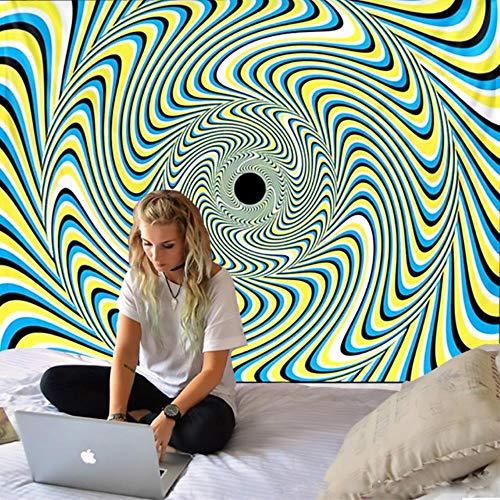 2021 patrón de remolino arte dormitorio tapiz de pared decoración del hogar sofá manta Hippie hojas de mandala estera de Yoga bohemia