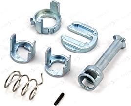 Door Lock Cylinder Barrel Repair Kit fit 1998-2006 BMW E46 323i 323c 323ci 325i 325xi 325c 325ci 328i 328c 328ci 330i 330xi 330c 330ci M3 Front L/R Side
