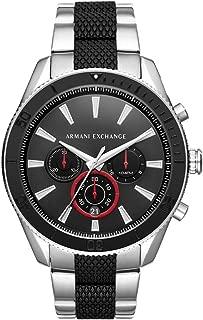ARMANI EXCHANGE Men's AX1813 Year-Round Analog-Digital Quartz Black Band Watch