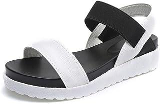 Para Zapatos Blancas Vestir Amazon esSandalias De rtQdsh
