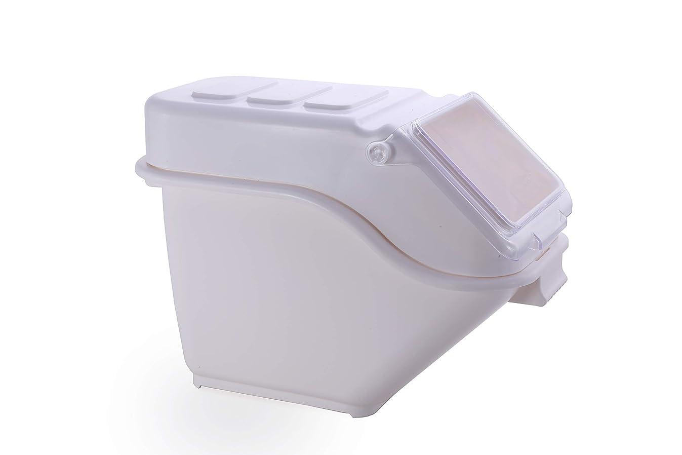 Hakka Commercial 100-cup ProSave Shelf-Storage Ingredient Bin with Scoop,Stackable