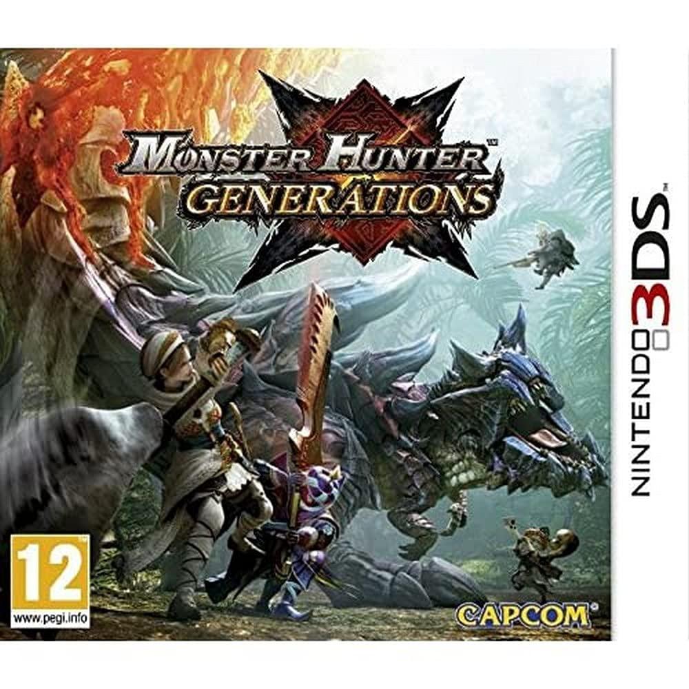 Monster Atlanta Mall Seasonal Wrap Introduction Hunter Generations 3DS Nintendo