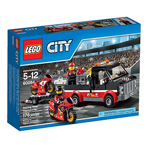 Price comparison product image LEGO City Great Vehicles Racing Bike Transporter