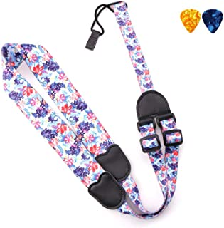 Ukulele Strap Adjustable Length, J Hook Clip On Neck Strap, Compatible With Mandolin, Banjo, etc.