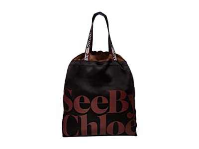 See by Chloe Live Tote (Black) Handbags