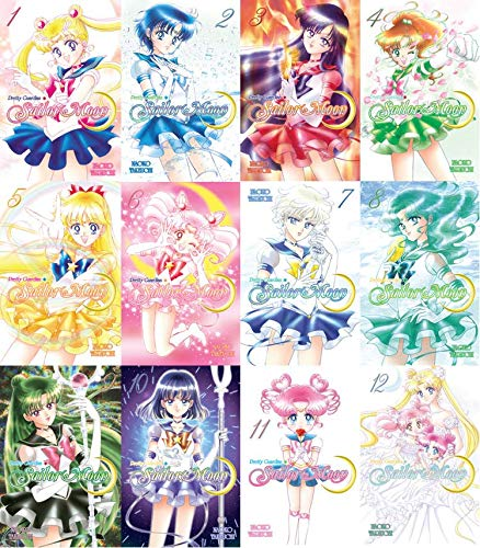 Sailor Moon Manga Set 1-12