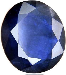 skyjewels Certified 4.80 Ct Neelam Natural Blue Sapphire Loose Gemstone