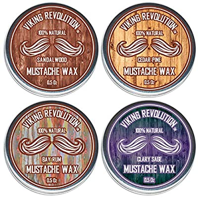 Mustache Wax Variety Pack