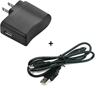 Graphing Calculator Charger: USB Power/Data Cable & Wall AC Adapter for Texas Instruments Calculators TI-84 Plus TI-84 Plus C Silver Edition TI 89 Titanium TI Nspire CX TI Nspire CX CAS