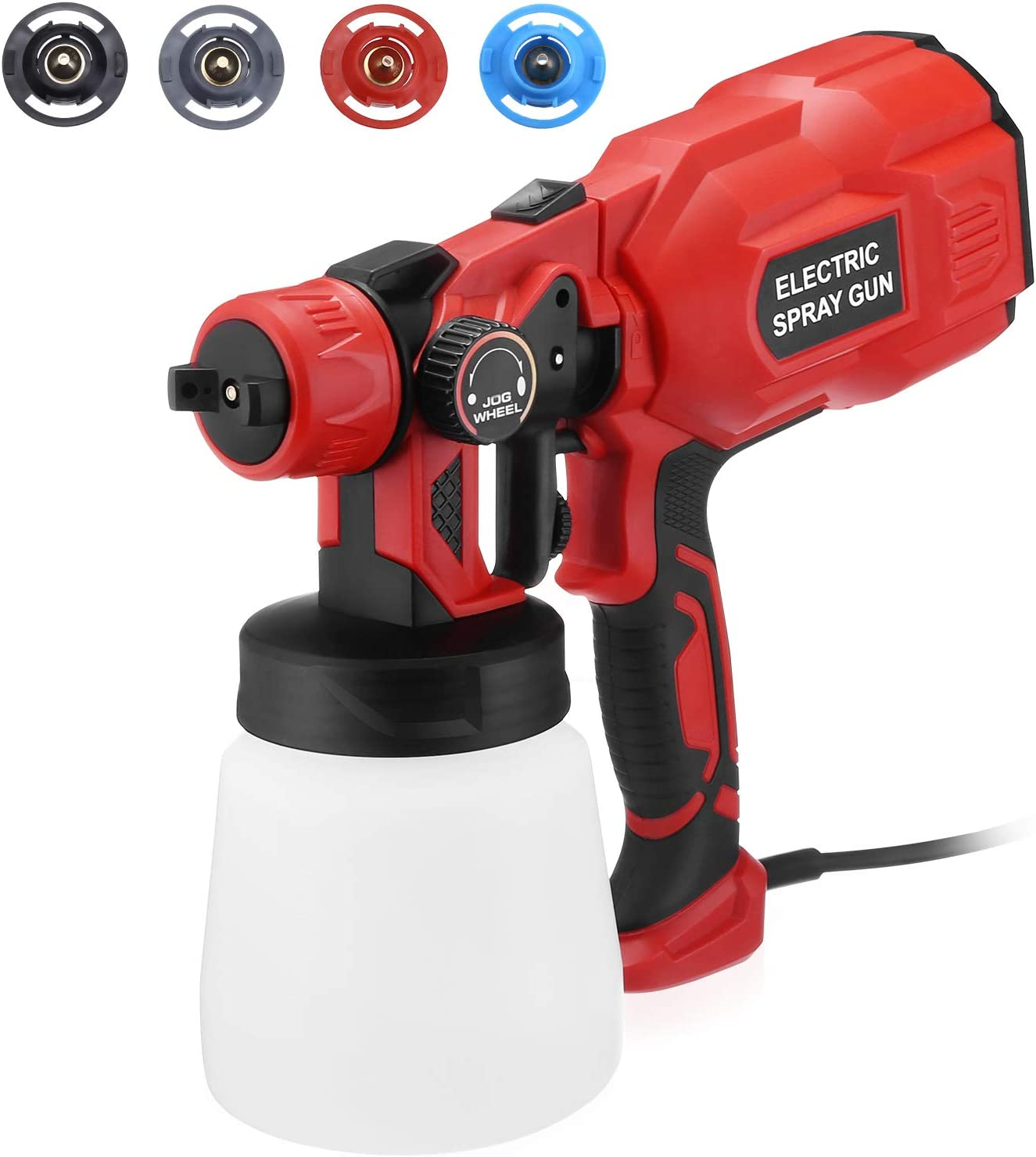 FirstPower HVLP Electric Paint Sprayer Spray Year-end annual account Eas Strong Force Inventory cleanup selling sale -