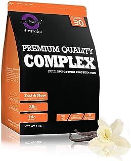 Pure Product Australia WPI/WPC/Casein Complex Protein Blend Powder, Vanilla 5 kilograms